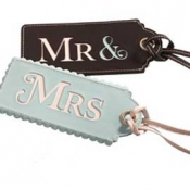 Thumbnail image for Mr & Mrs Luggage Tags