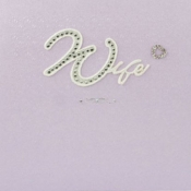 Thumbnail image for Wife Diamante Wedding Card
