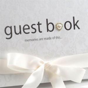 Five Dollar Shake Wedding Guest Book
